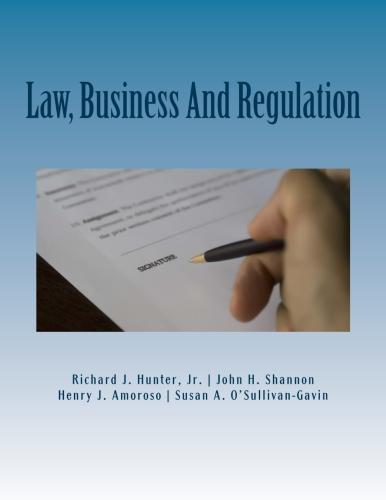 Law, Business & Regulation